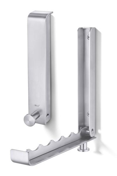 CANZO 50680 Design-Klapp-Garderobe aus Edelstahl von Zack