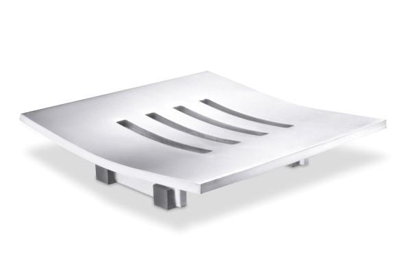 ABBACO 40101 Design-Seifenschale aus Edelstahl von Zack