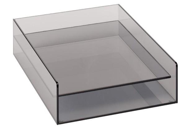 Seleco VITREO Design-Ablagekasten aus Glas