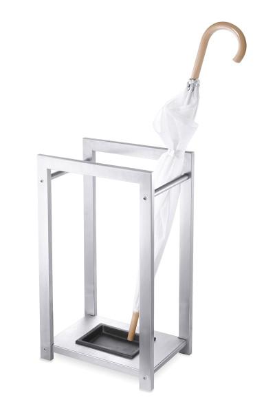ATACIO 50455 Design-Schirmständer aus Edelstahl von Zack